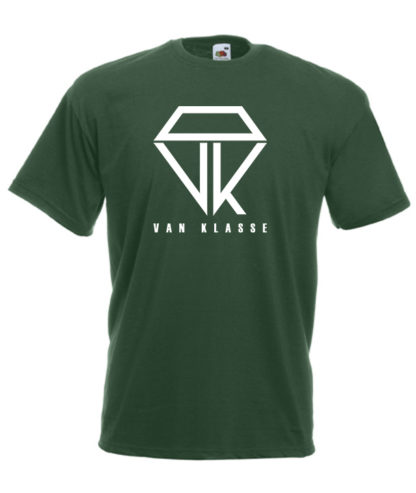 Van Klasse T-Shirt Bottle Green