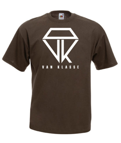 Van Klasse T-Shirt Chocolate