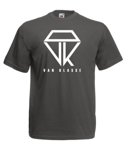 Van Klasse T-Shirt Light Graphite