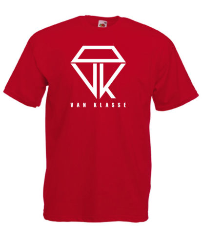Van Klasse T-Shirt Red